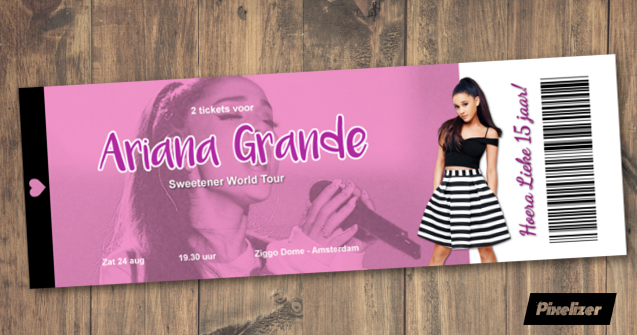 ticket Ariana Grande